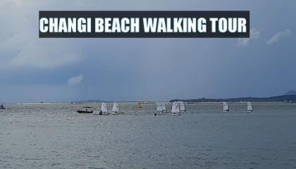 Singapore changi beach to palau ubin via ferry tour and site seeing