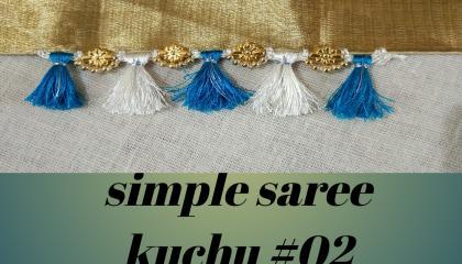 simple saree kuchu in crochet 02