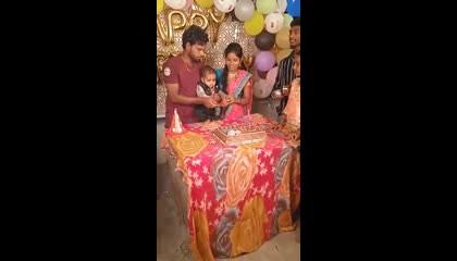 mokshi birthday vedios