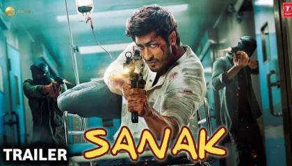 Sanak Official Hindi Movie Trailer- Vidyut_ Jammwal.