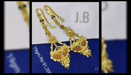 Latest gold earrings collection with weight and price don't miss it Please do follow and support my channel