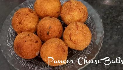 Paneer cheese balls  kids favourite recipe  quick and easy snack recipe