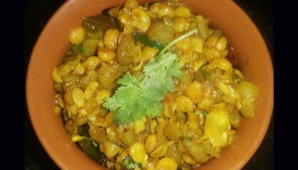Beerakaya Changapappu recipe