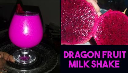 Dragon fruit smoothie  healthy smoothie