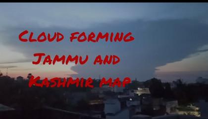 CLOUD FORMS JAMMU AND KASHMIR MAP