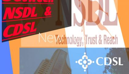 Difference between NSDL and CDSL.