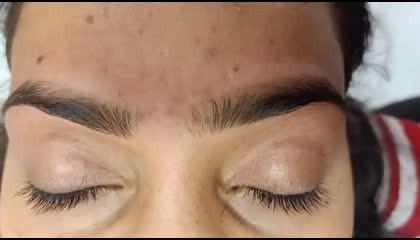 How to make a eyebrow