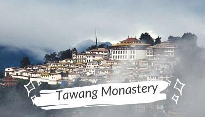 India's Largest Monastery - Tawang Monastery  Notebook Journey
