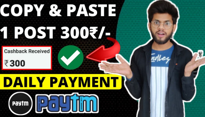 Copy & Paste Work  Work From Home  Earn Money Online  Typing Jobs From Home  Online Jobs At Home
