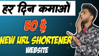 Earn 50$ Day New URL Shortener Unlimited // Make Money Online // Best Link Shortner Website