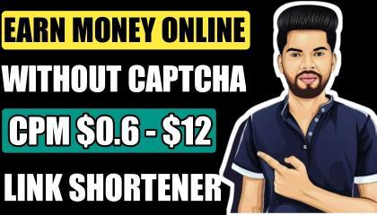 Without Captcha Best Link Shortener Website // Best URL Shortener Website // Earn Money Online