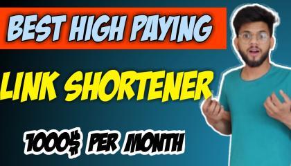 Best Link Shortener In 2021 India || High paying url shortner website || earn money online
