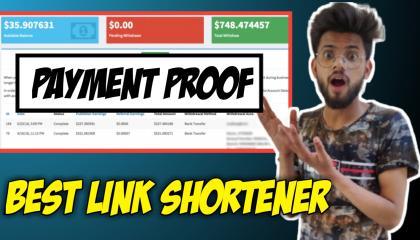 Live Payment Proof _ Instant Payment Link Shortener Website 2021 (100% Trusted) _ Best URL Shortener