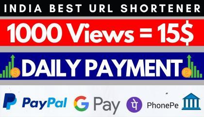 Highest Paying Link Shortener Website In India USA 2021 // Best Link Shortener  //  Copy Paste Job For Students