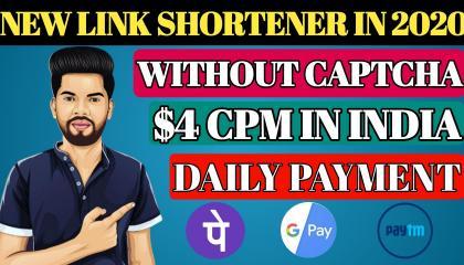 Without Captcha Highest Paying URL Shortener Website // link shortener // make money online