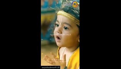 Jay knheya lal krishan radhe krishna  video song status  krishan ji ke lila aprm  mhima hai video