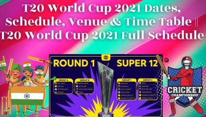 ICC T-20 WORLD CUP SUPER 12 STAGE     T20 World Cup 2021 Groups      ICC T-20 WORLD CUP   SPORT