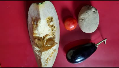 ଘାଣ୍ଟ ତରକାରୀ  Mixed Vegetables Curry