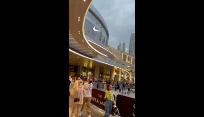 The Dubai Mall - outside view