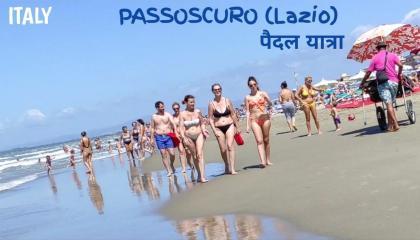 ITALY - Passoscuro beach walking tour