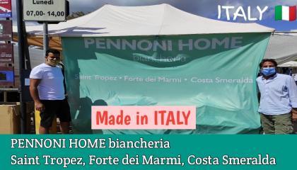 Pennoni Home Clothes में Made in ITALY का कपड़ा बिकता है  इटली