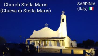 Stella Maris Church - PORTO CERVO ( Sardinia ) Italy