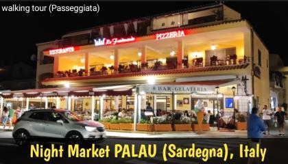 रात का बाजार    Night Market PALAU  ( Sardegna ) Italy