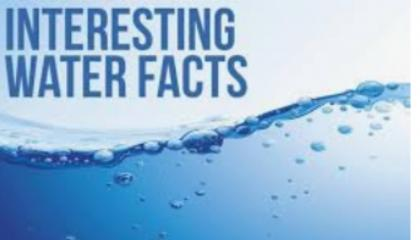 amazing fact about in water