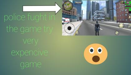 police fight in the game
