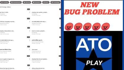 Atoplay Bug Problem  😠😡😡