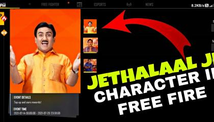IF JETHALAL WAS CHARACTER IN FREE FIRE 🔥