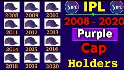IPL PURPLE CAP HOLDERS 2008-2021