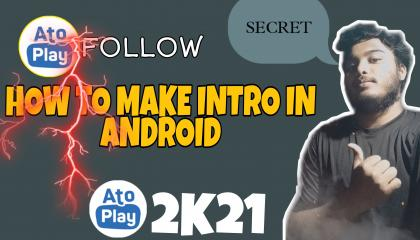 how to make follow intro in android