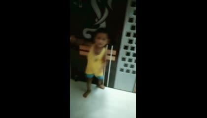 Swaraj playing roundingly