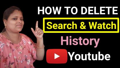 Youtube ka search and watch history kaise delete kare