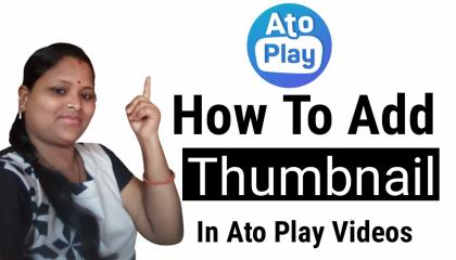 How To Add  Thumbnail In Autoplay. Atoplay videos me thumbnail kaise lagaye