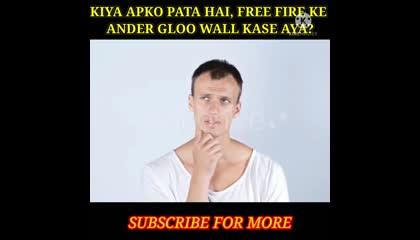 Garena Ke Ander Gloo Walls Kase Aya?🤫  Top Facts About Free Fire  {{Itz_Shuban}}