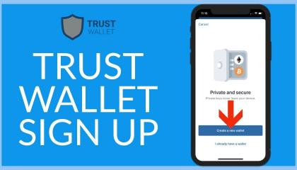 How to create trust wallet on your phone