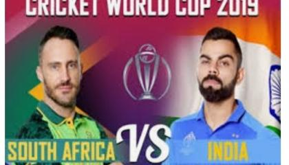 South Africa vs India : ICC Cricket world cup 2019 highlights