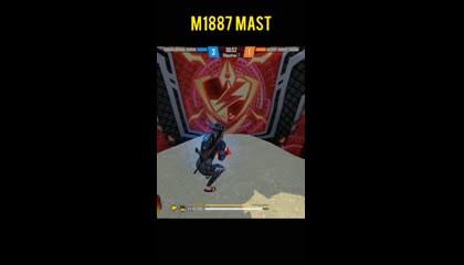 M1887 MAST HEADSHOT - GARENA FREE FIRE shorts