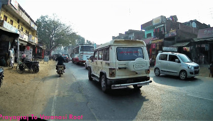 Prayagraj to Varanasi Root Amazing Seen travelling Vlog in Prayagraj Banaras travelling Vlogs.