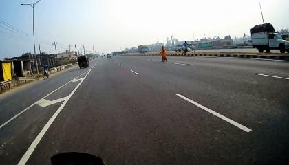 Prayagraj to Varanasi highway, हंडिया हाइवे, प्रयागराज से बनारस का रास्ता।