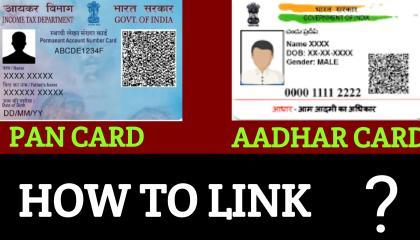 How To Link Pan Card And Aadhar Card  Pan card or aadhar card link kaise kare