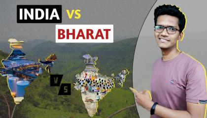 Harsh reality of Bharat Within India  India vs Bharat.  By Mohit Kale