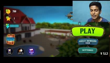 Gorilla Vs uncle scary stranger 3d gameplay 2