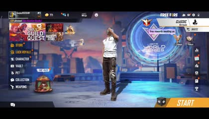 Can I play like a pro player  frist gameplay free fire 1