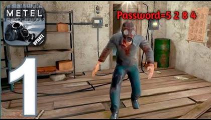 Unlock password metel horror escape gameplay 1