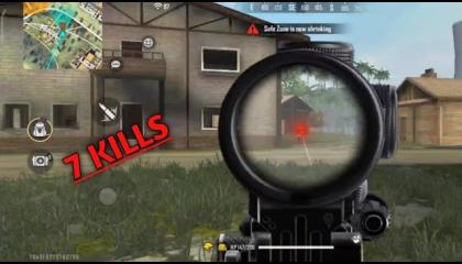 Mystery death on free fire 7 kills gameplay2