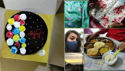 unboxing my dresses from meesho...... attend cousin birthday🎂