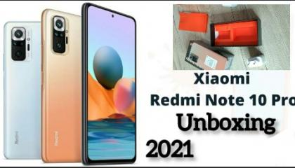 Redmi Note 10 Pro unboxing _Smartphone